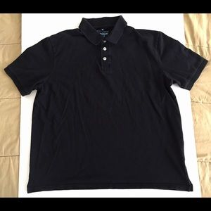 Blue Harbour Marks & Spencer Black White Polo XL